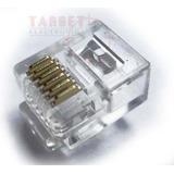 Conectores Rj12 Machos 6 Contactos X10