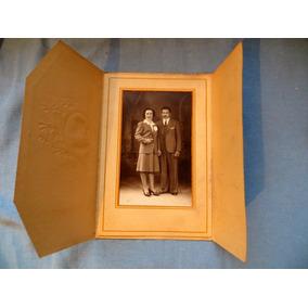 Fotografia Matrimonio Triptica Década Del 40-50