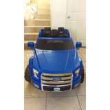 Juguete Montable Ford F-150 De Dos Plazas Como Nueva