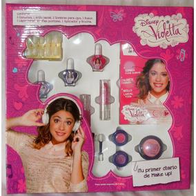 Violetta Set De Maquillaje + Uñas Postizas Lic. Disney