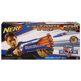 Nerf N-strike Elite - Rough Cut 2x4 Blaster - Pronta Entrega