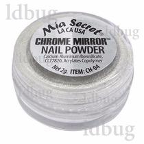 Polvo Espejo Mia Secret Chrome Mirror Nail Powder