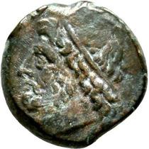 Siracusa, Sicilia, Litra, 274-215 Ac. Hieron Il. Poseidon Vf