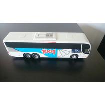 Miniatura De Ônibus Em Madeira Viação 1001 G6 S/ Retrovisor