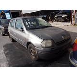 Sucata Renault Clio Rn 1.0 Ano 2001 2001 (somente Peças)