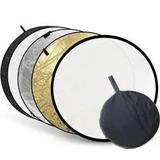 Pantalla Reflectora 5 En1 80cm Circular Con Funda Fac A O B