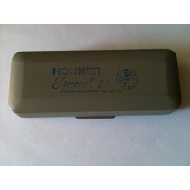 Estojo Da Gaita Hohner Special 20 Nº 560/20 -made In Germany