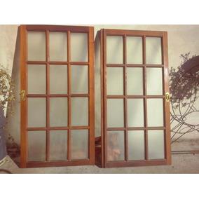 ventana cedro vidrios repart