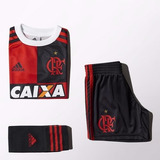 Kit adidas Flamengo 450 Infantil Homenagem Rio 1magnus