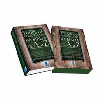 Livro Todos Os Personagens Da Biblia De A A Z Richard R. Los