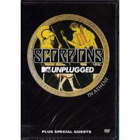 Dvd Scorpions Mtv Unplugged In Athens Novo Lacrado Original