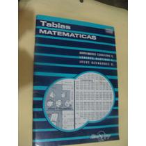 Libro Tablas Matematicas , Arquimides Caballero , Año 1985