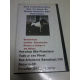 Fita Comemorativa Dos 11 Anos Do Haras Rancho São Francisco