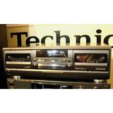 Doble Cassetera Deck Technics Rs-tr272 Impecable!! 220v
