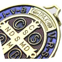 Autentica Medalla San Benito Abad Vs Brujerias Enfermedades