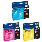 Cartuchos Originales Epson 196 Para Impresoras Xp 201 401