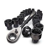 Craftsman® Juego De Autoclé Universal 19 Piezas Mod. 39119