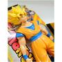 Dragon Ball Z Goku Super Saiyan Deluxe 22cm Original Bandai