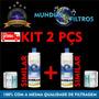 2 Refil C+3 Filtro Purificador De Água Ibbl. Fr600 Atlantis