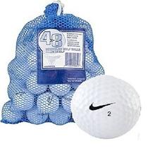 Bolsa Nike 48 + Bola Aaa Mix Reciclado Pelotas De Golf Blanc