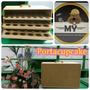 Maleta - Caja - Conten Porta Cupcakes Ideal Para El Traslado