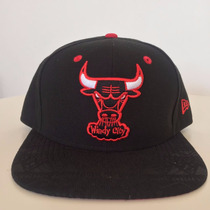 Gorra New Era Chicago Bulls Nba Snapback