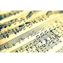 Cuaderno Música Pentagramado Melos 18 Hojas ( Big Bang Rock)