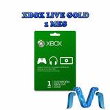 Xbox Live Gold 1 Mes Membresia Envio Gratis Rapido