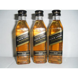 Kit Com 11 Miniaturas Whisky Johnnie Walker Black Label