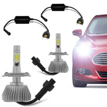 Kit Xenon Super Led Carro H1 H3 H4 H7 H8 H11 Hb3 Hb4 6000k