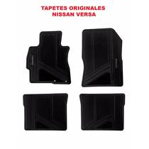 Tapetes Originales Nissan Versa Color Negro Envío Gratis!