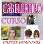 Cabeleireiro 40 Cortes Femininos 4dvds Completo Aula M. Pago