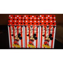 Cajitas Golosineras Mickey/ Souvenir