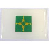 Bandeira De Brasília Distrito Federal Brasil 6x4cm - Bre