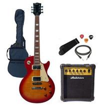 Guitarra Les Paul Estandar + Amplificador En Cuerdashop