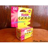 10 Rollos Film Foto Películas 35 Mm Kodak Gold Vencidos 2005