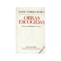Libro Obras Escogidas Poesia Autobiografia Ensayo *cj