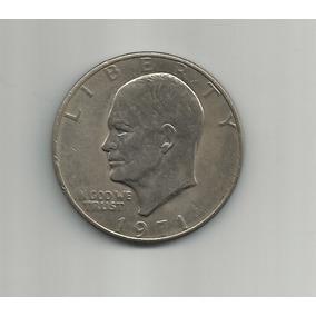 Ltc002: I Dólar Eisenhower De Estados Unidos De 1971.