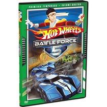 Dvd - Hotwheels Battle Force 5 - 1ª Temporada Vol. 4