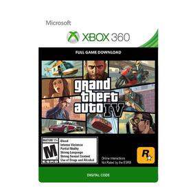 Gta Iv - Xbox 360 / Xbox One - Codigo 25 Digitos