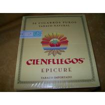 Puros Cigarros Cien Fuegos Epicure Caja X 50 U. Tabacosweb