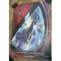 Poster Cine El Sorprendente Hombre Araña 2