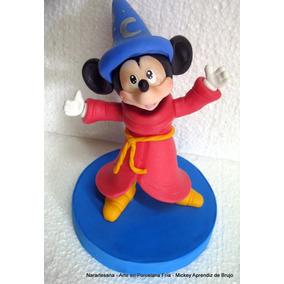Adorno Para Torta Mickey Mouse Porcelana Fría Narartesana