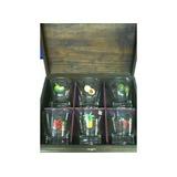 Copos Para Caipirinha Frutas Em Caixa De Madeira