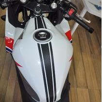 Adesivo Protetor Faixa Tanque Tuning Moto Honda Cb Cbr 500