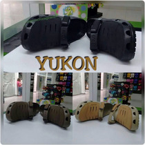 Crocs Hombre Yukon Beige/cafe/negra Talla (38-42) Importadas