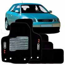 Jogo Tapete Carpete Lavável Audi A3 1997 A 2005 - 5 Peças