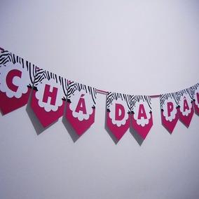 Bandeirinhas, Bandeirola, Varal, Personalizados + Brinde