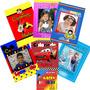Kit 10 Revistas De Colorir Personalizadas + Giz De Cera