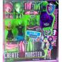 Monster High Set De Gata Y Bruja Crea Tu Monster Set Grande